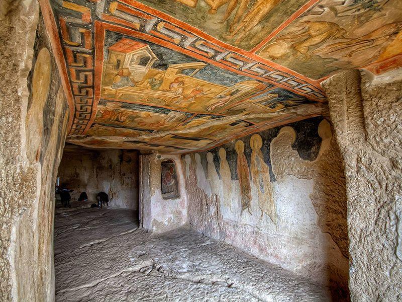 UNESCO Sites Bulgarian Monasteries ~ Ivanovo-Rock-monastery, 800x600-optimized