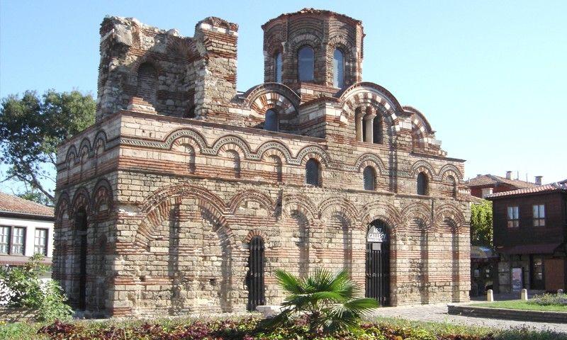 The Church of Christ Pantocrator (12 - 14 c. AD), Nessebar, Bulgaria, (800x480)